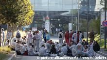 Frankfurt am Main   Demonstrationen gegen IAA