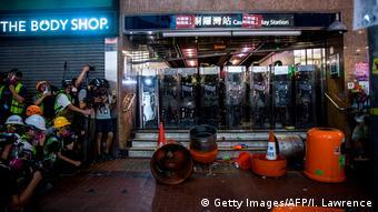国际特赦组织: 港警对示威者滥用暴力与酷刑
