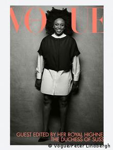 Cover der Vogue mit Chimamanda Ngozi Adichie von 2019 (Vogue/Peter Lindbergh)