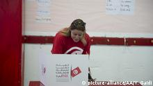Presidential elections in Tunis (picture-alliance/AA/Y. Gaidi)