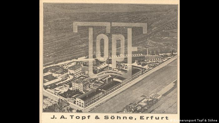 The Topf & Sons headquarters in Erfurt, pictured in 1935 (Sammlung Gedenkstätte Buchenwald)