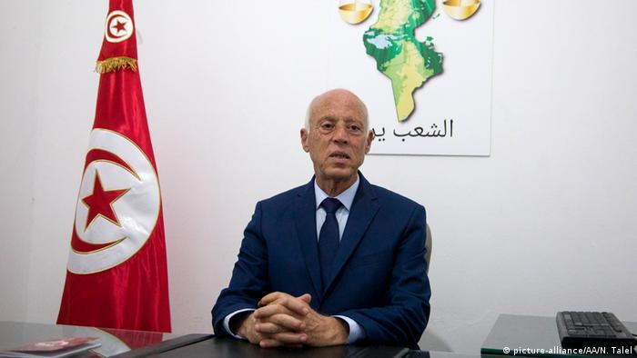 Tunesien Präsidentschaftswahlen Kais Saied (picture-alliance/AA/N. Talel)