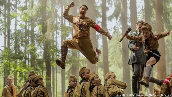 Director Taika Waititi plays Adolf Hitler in his latest film Jojo Rabbit