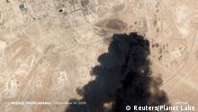 Saudi Arabien Luftbild Ölanlagen Abqaiq