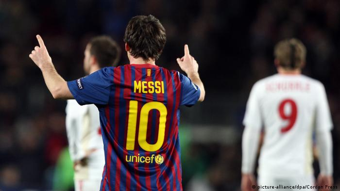 Champions League - FC Barcelona - Bayer Leverkusen 7:1