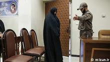 Shabnam Nematzadeh vor Gericht