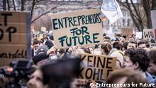 Demonstration für Klimaschutz (Entrepreneurs for Future)