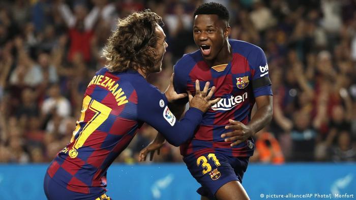 Champions League Could Ansu Fati Fill Lionel Messi S Boots
