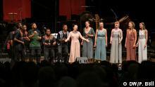 Beethovenfest 2019 Campus-Konzert im World Conference Center Bonn, Saal »New York«. Just 6 und Sjaella. Foto: Philipp Böll / DW am 12.9.2019