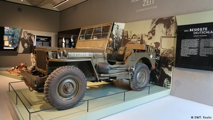 An American WWII Jeep at the Ludwig Erhard Zentrum - photo by Timothy A. Rooks