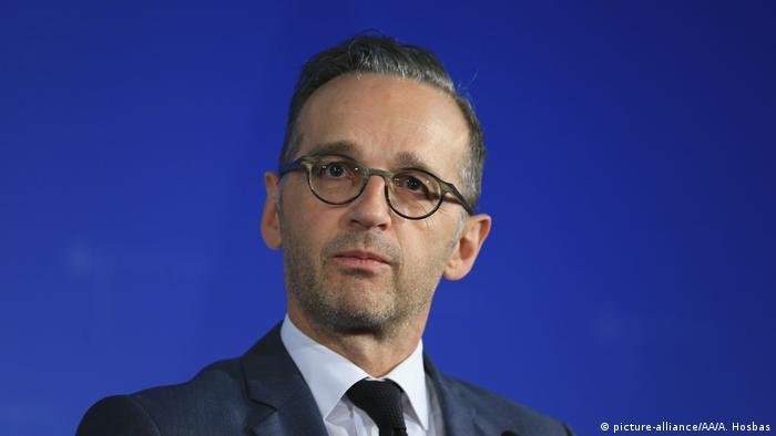 Heiko Maas und Nikos Dendias Pressekonferenz in Berlin (picture-alliance/AA/A. Hosbas)
