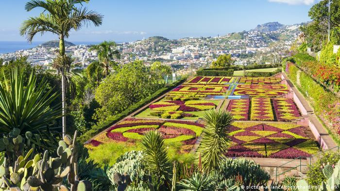 Portugal Botanischer Garten, Funchal, Madeira