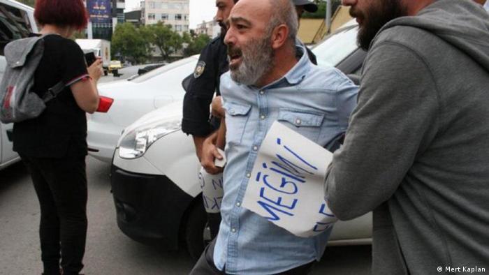 Türkei Protest vor dem AKP-Gebäude in Ankara (Mert Kaplan)