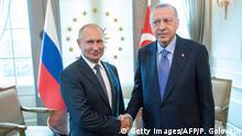 Türkei Treffen Erdogan Putin in Ankara