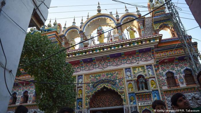 Pakistan Karatschi Hindu Tempel