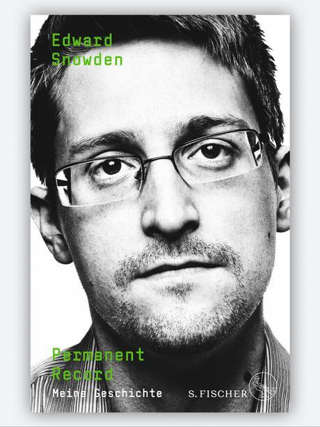 Обкладинка книжки Едварда Сноудена