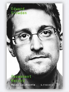 Buchcover Edward Snowden, Permanent Record
