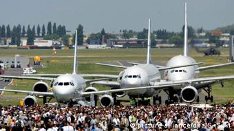 Авиасалон в Ле-Бурже (фото из архива)