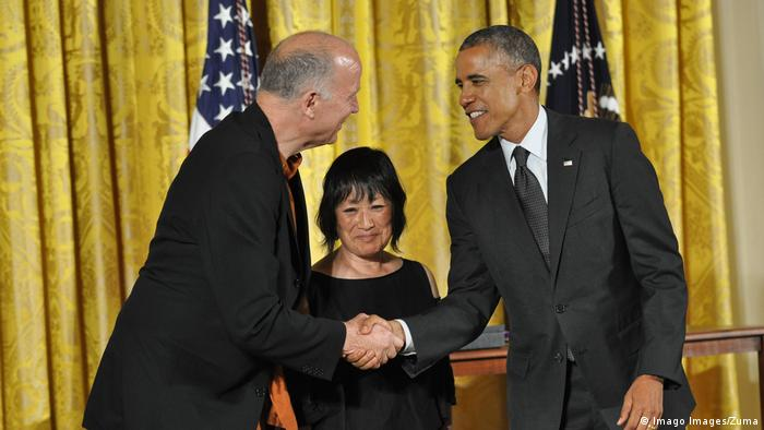 Architects Tod Williams and Billie Tsien (Imago Images/Zuma)