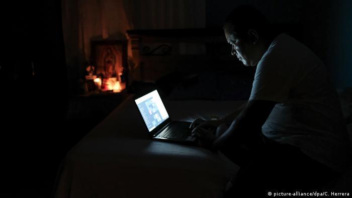 Power outage, Managua, Nicaragua