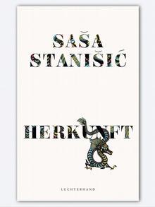 Buchcover Sasa Stanisic Herkunft
