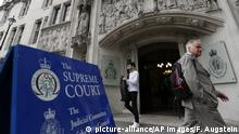 Großbritannien | Supreme Court in London