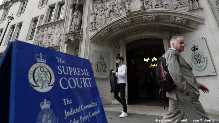 Großbritannien | Supreme Court in London