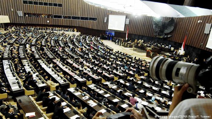 Indonesien Parlament in Jakarta
