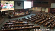 Indonesien Sitzung des Parlaments in Jakarta (Detikcom/L. Aritonang)