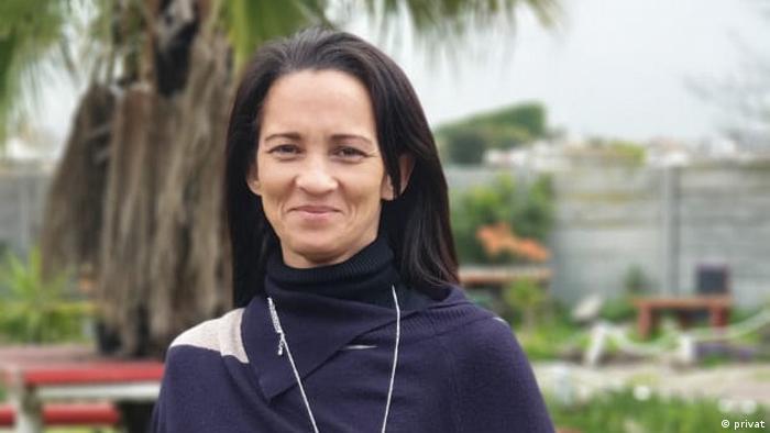 Chantal Dette in Cape Town Südafrika
