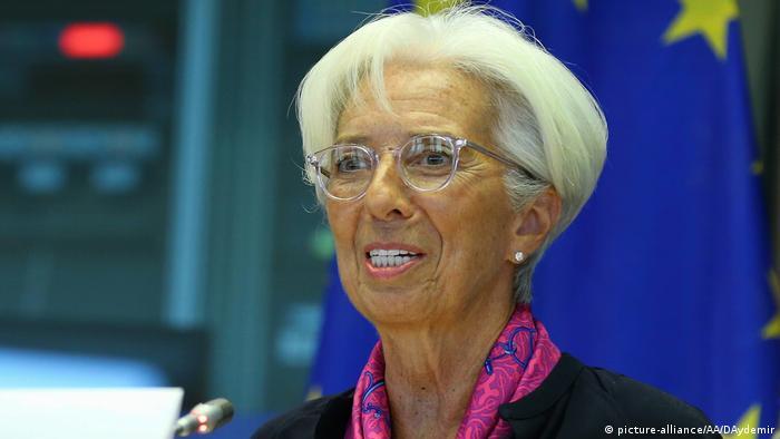 Кристин Лагард в Европарламенте