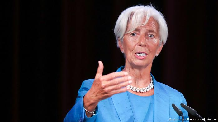 Christine Lagarde (picture-alliance/dpa/J. Woitas)