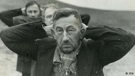 Wladyslaw Bielinski shortly before he was executed by German Nazis