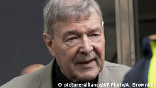 George Pell (picture-alliance/AP Photo/A. Brownbill)