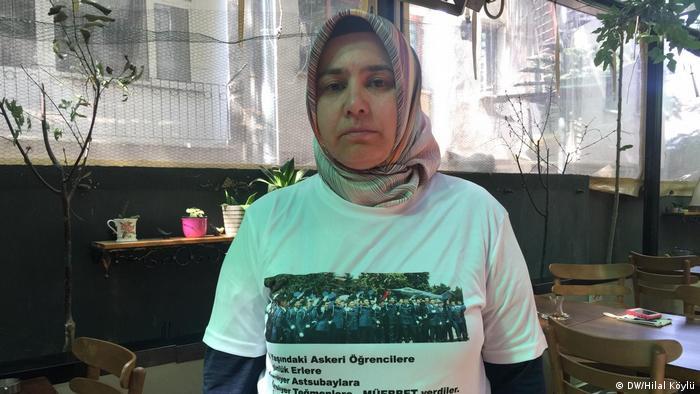 Melek Çetinkaya çocuğu için adalet aradığını belirtiyor