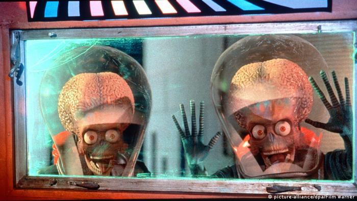 Imagen de la película Marte ataca.