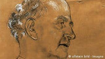 Drawing of Wilhelm Furtwängler
