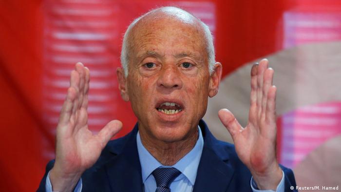 Tunesien Präsidentenwahl Kandidat Kais Saied