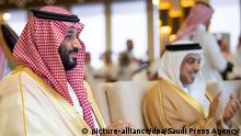 Saudi Arabien | Mohammed bin Salman bei der Abschlusszeremonie des «Crown Prince Camel Festival»