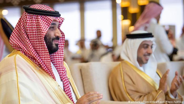 Saudi Arabien   Mohammed bin Salman bei der Abschlusszeremonie des «Crown Prince Camel Festival» (picture-alliance/dpa/Saudi Press Agency)