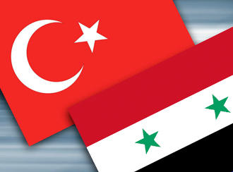 Turkish and Syrian flag