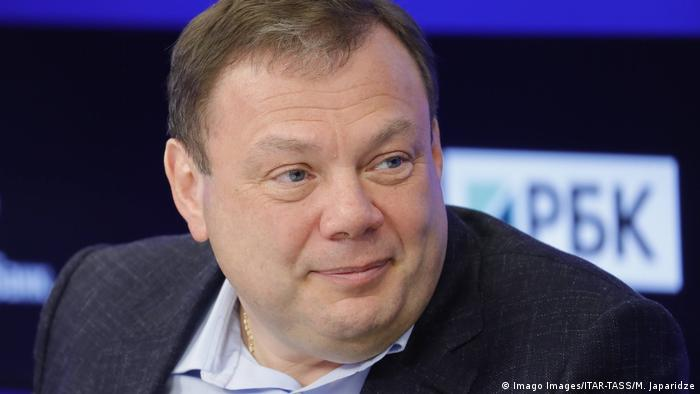 Russland Moskau   Mikhail Fridman Vorsitzender des Aufsichtsrat der Alfa-Gruppe