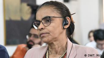 Marina Silva no evento de divulgação do relatório da HRW neste terça-feira