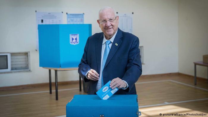 Israel Parlamentswahlen Präsident Rivlin