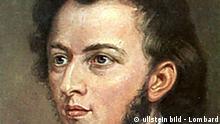Chopin, Frederic *22.02.1810-17.10.1849+ Musiker, Komponist, Pianist, Polen - Portrait, n.d. Gemaelde von B. Franz - undatiert ullstein_high_00443734.jpg