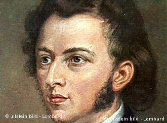 Chopin morreu no exílio em Paris, em 1849