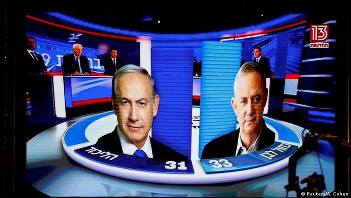 استطلاعات للرأي تظهر تقاربا شديدا في نتائج انتخابات إسرائيل