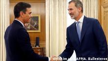 Spanien Madrid | König Felipe und Premierminister Pedro Sanche