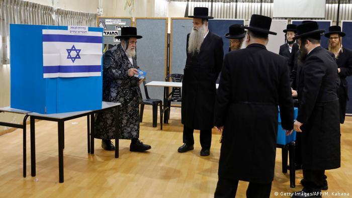 Symbolbild: Präsidentschaftswahlen in Israel 2019 (Getty Images/AFP/M. Kahana)