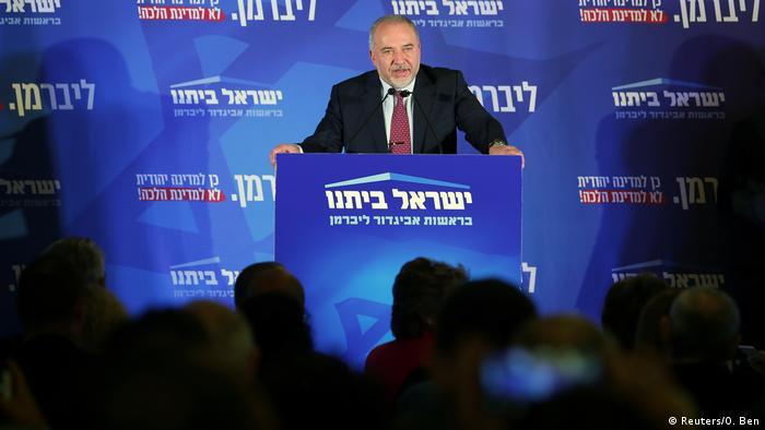 Avigdor Lieberman - Yisrael Beitenu Partei (Reuters/O. Ben)